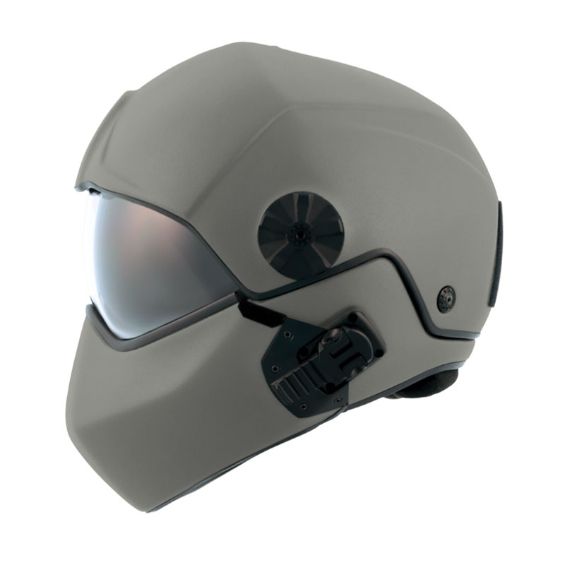flight helmet H-CMB grey