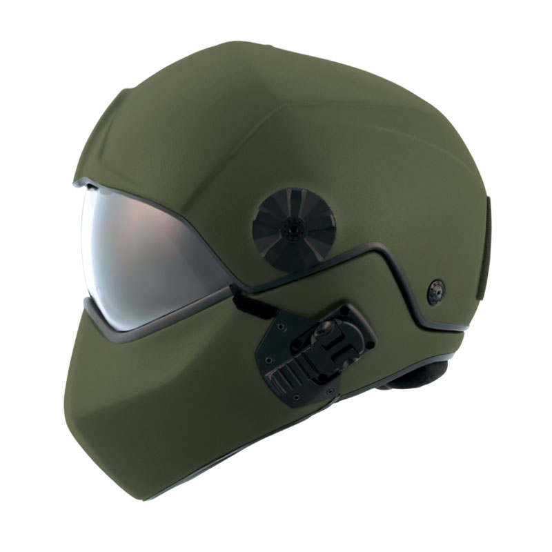 flight helmet H-CMB NATO green