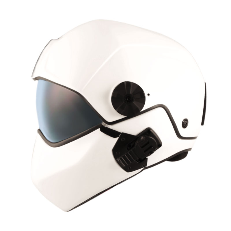 flight helmet H-CMB white
