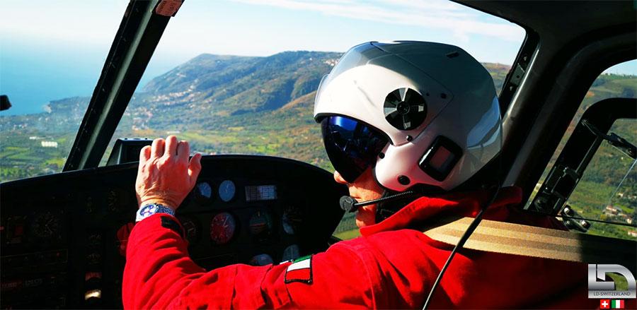 helicopter fliht helmet