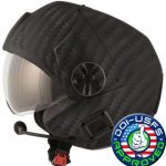 helicopter helmet DOI/USFS certified full carbon