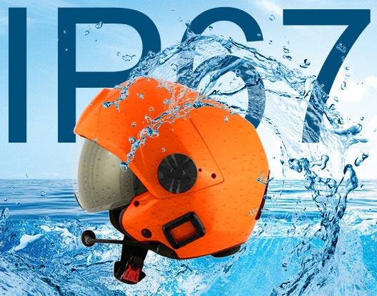 waterproff helicopter helmet